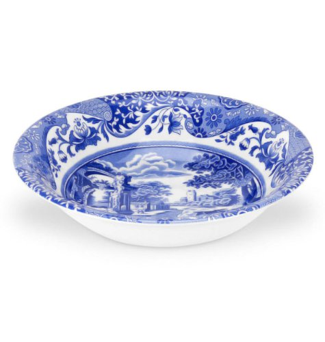 Spode Blue Italian 1 X Cereal Bowl 8inch (20.5cm) Only