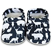 Clamfeet Organic Baby Shoes Organic Vegan Baby Shoes (2 | 6-12 Month, Forrest)