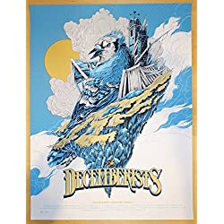2015 The Decemberists - Spring Tour Silkscreen Concert Poster by Ken Taylor
