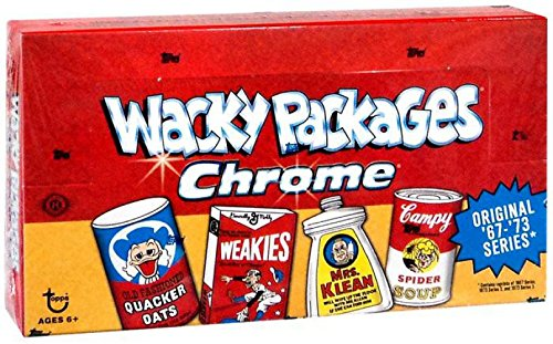 2014 Topps Wacky Packages Packs CHROME Cards Hobby, used for sale  Delivered anywhere in USA