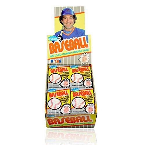 1989 Fleer Baseball Card Hobby Box -