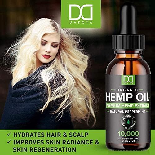 grade peppermint hemp oil tincture