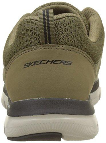 2 Flex black lindman Baskets Vert olive 0 Skechers Advantage Homme PwEdx7q7
