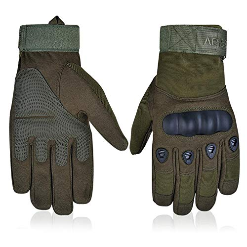 Price comparison product image Gloves for Mountain Bike Riding Racing Motorcycle and Warmth in Green, Green, XL