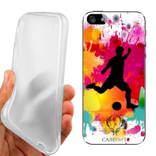 CUSTODIA COVER CASE CALCIO PER IPHONE 5 5G 5S