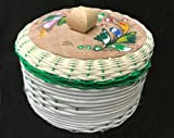 Large Mexican Tortilla Keeper Warmer basket Eco Friendly Handmade Made in Mexico Big