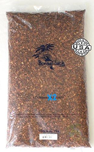7 Gallons 1/4 Inch Douglas Fir Bark Fines, 28 Quarts - Orchid Fir Bark
