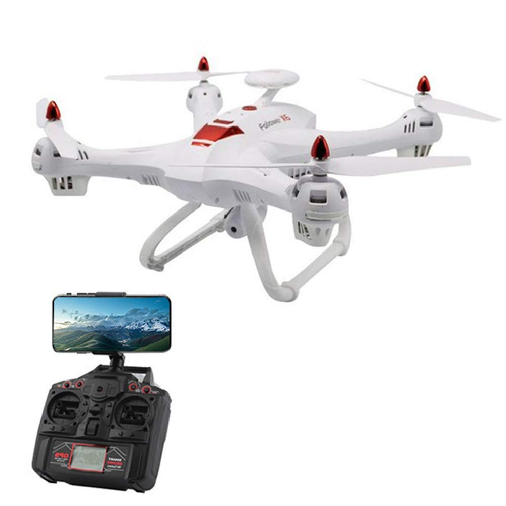 Koeoep X183S WiFi FPV Drone with 1080P HD Camera Live Video RC Quadcopter with Altitude Hold,Gravity Sensor Function,RTF and Easy to Fly for Beginner Weiß
