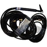 CK Worldwide CK20-25 Standard Series Water Cooled TIG Torch, Black