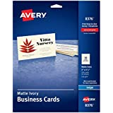 "Avery 2"" x 3.5"" Ink Jet Business Cards (8376)"