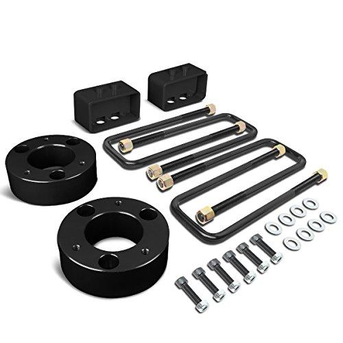 Leaf Spring Leveling Kit (Ford F150 Black 3