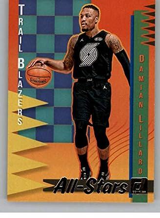 huge selection of 2ba04 db103 Amazon.com: 2018-19 Donruss All-Stars #18 Damian Lillard ...