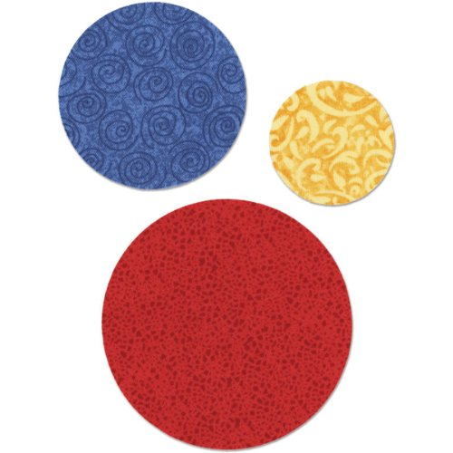 Sizzix Circle Bigz Dies Series, 2-Inch, 3-Inch, 4-Inch ()