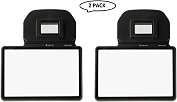 4 Pack Vello 3 Glass LCD Screen Protector