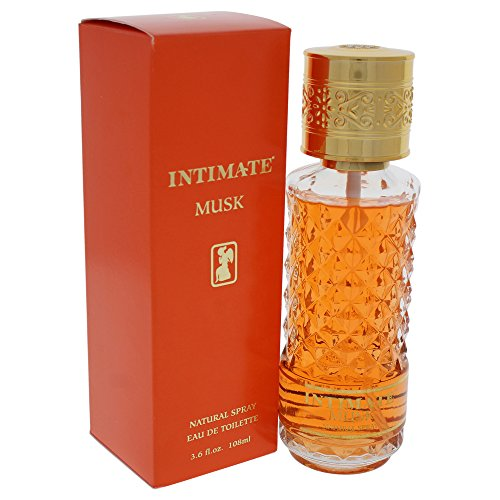 Intimate Musk Eau De Toilettes Spray for Women, 3.6 Ounce ()