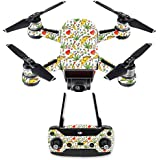 MightySkins Skin For DJI Spark Drone & Controller - Munchies | Protective, Durable, and Unique Vinyl Decal wrap cover | Easy To Apply, Remove, and Change Styles | Made in the USA