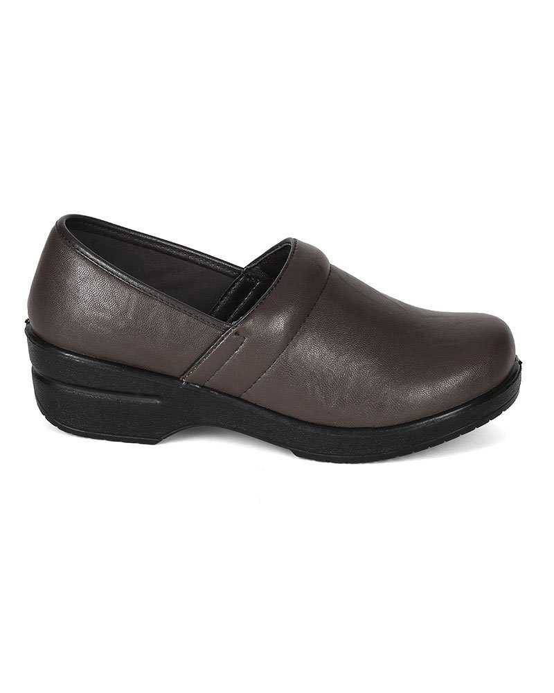 Refresh Women Leatherette Round Toe Slip On Clog BH36 - Brown (Size: 8.5) by Refresh (Image #2)
