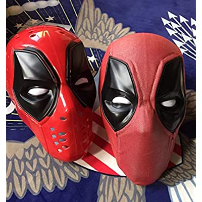 Gmasking 2020 Red Wilson Full Head Cosplay Exclusive Mask 1:1 Replica Custome: Toys & Games