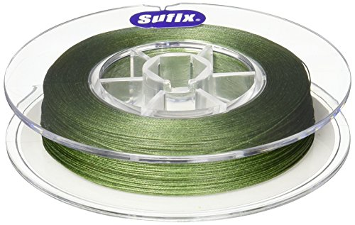 Sufix 832 Braid 10 lb Low-Vis Green 300 yards