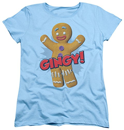 Womans: Shrek - Gingy Ladies T-Shirt Size M