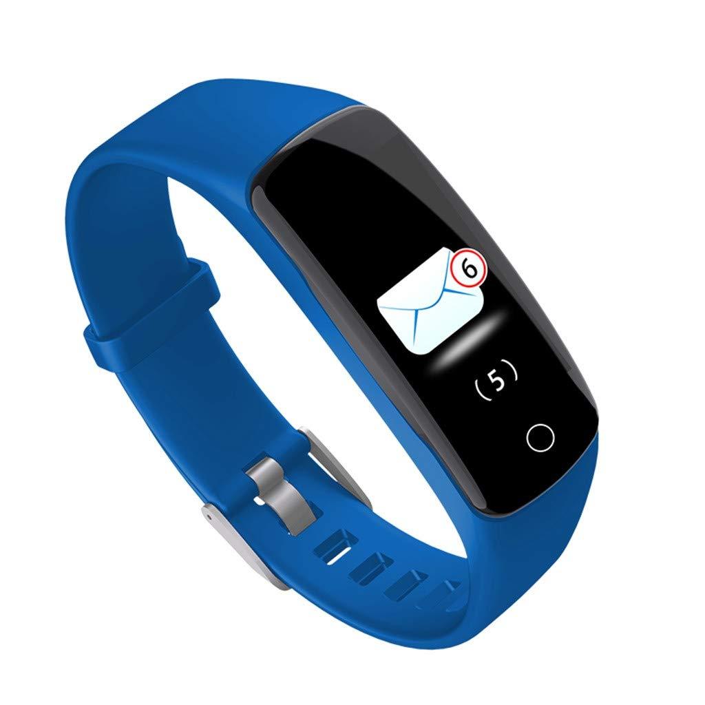 Amazon.com: Bluetooth Smartwatch,Smart Watch,Bluetooth Smartwatch Touch Screen Sport Smartwatch,Ios7.0+ Android 4.3+,Reloj inteligente(Blue): Kitchen & ...