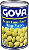 Goya Foods Green Lima Beans, 15-Ounce (Pack of 24)