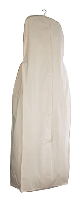 Amazon.com: Acid-Free Muslin Wedding Gown Garment Bag 70: Home ...