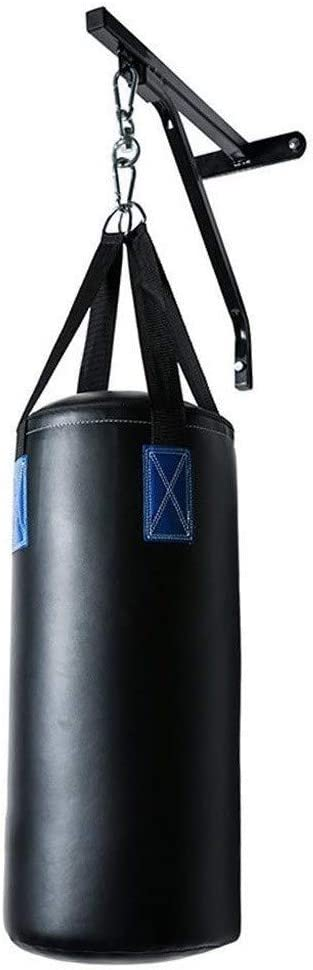 Punch Bag Bracket Wall Mount Heavy Duty Boxing Bag Hanger Punch Focus Speed Stands Steel Frame Ceiling Hook Rack MMA Training Home Gym Excersice Fitness Hand Wraps Men Women Bandages Gift