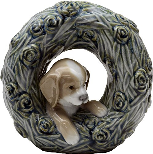 Lladro Puppy Natural Frame