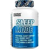 Evlution Nutrition Sleep Mode | Fall Asleep Faster | Melatonin, GABA, Valerian Root & More | Natural Aid for Deeper Sleep & Relaxation | 60 Non-Habit-Forming Vegetarian Capsules