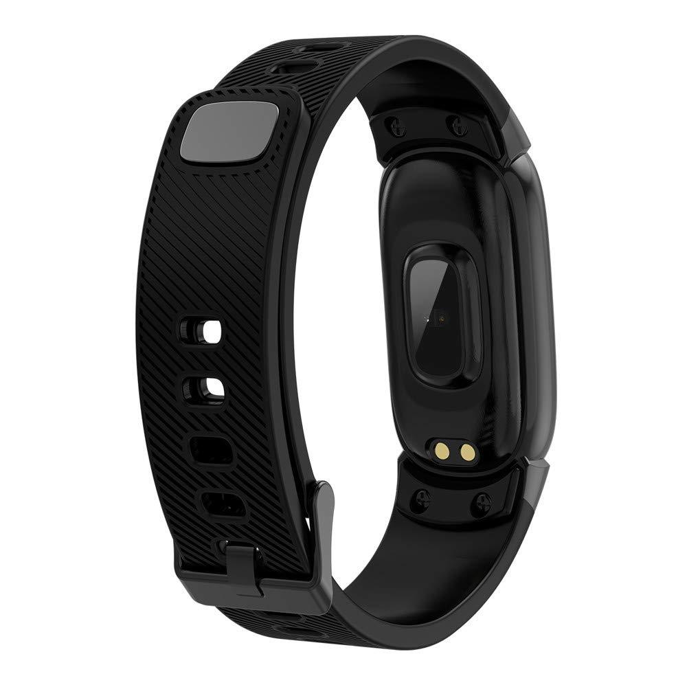 LUXISDE Fitness Bracelet Smartwatch Ladies, Activity Tracker QW16 Smart Watch Sport Fitness Activity Heart Rate Tracker Blood Pressure Watch by LUXISDE (Image #1)