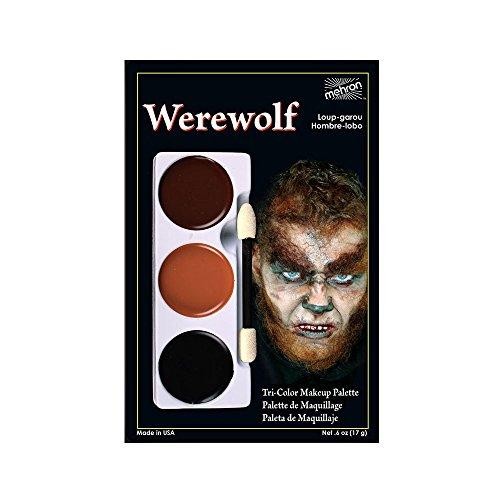 Mehron Werewolf - Tri-Color Character Makeup Palette