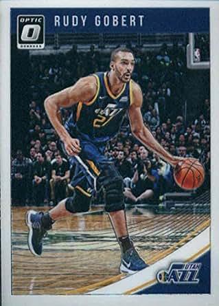 dabdf5d60 Amazon.com  2018-19 Donruss Optic  93 Rudy Gobert Utah Jazz NBA ...