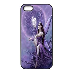 High Quality {YUXUAN-LARA CASE}Love Angels For Apple Iphone 5 5S STYLE-15