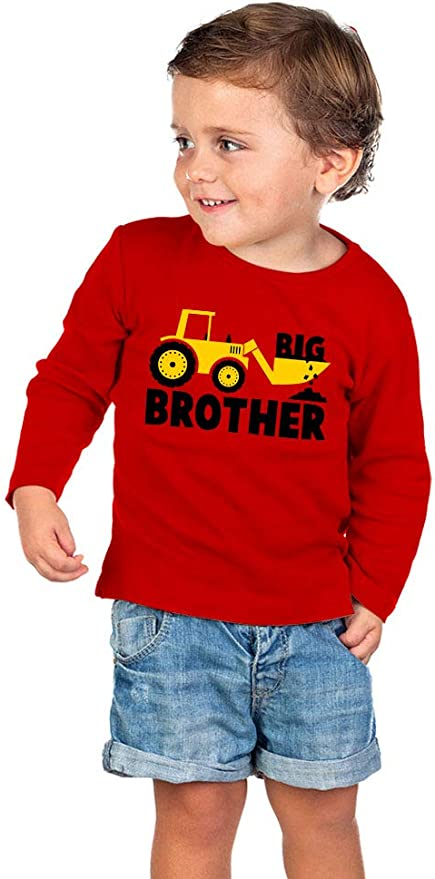 BEEHAVE BIG BRO BROTHER BOUTIQUE OUTFIT SET CORDUROY PANTS LONG SLEEVE T-SHIRT