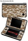 Nintendo DSi XL Skin WraptorCamo Digital Desert