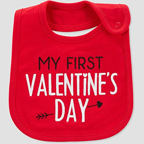 Just One You My First Valentines Day Bib