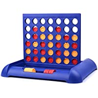 Amglobal Classic Family Connect 4 Game in a Row,Connect...