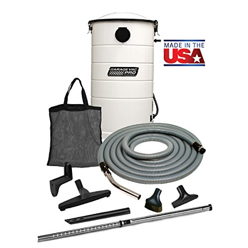VacuMaid GV50WPRO Professional Wall Mounted Utility and Garage Vacuum with 50 ft Hose and Tools by VacuMaid