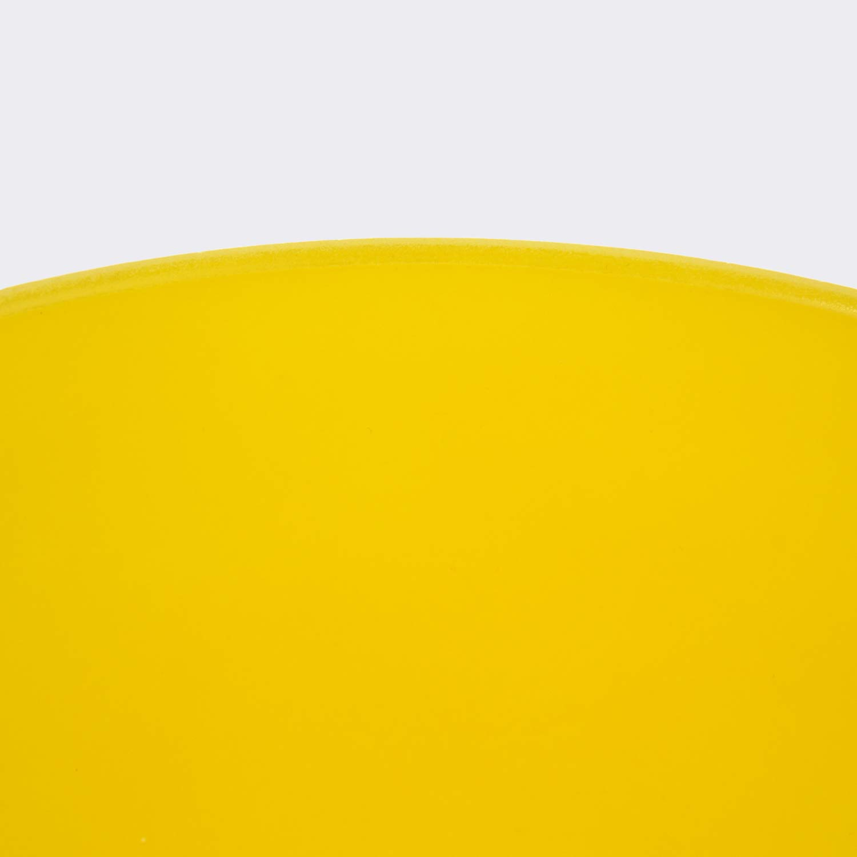 TOPFUND Escarchado E Solar Plexo Chakra Amarillo Colorido Cuarzo Cristal Cantocuenco 20cm: Amazon.es: Instrumentos musicales
