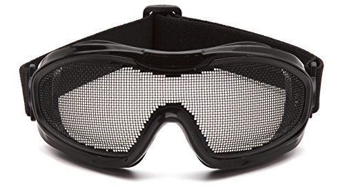 Pyramex Safety G9WMG Low Profile Wire Mesh Safety Goggles (Best Airsoft Goggles For Glasses)