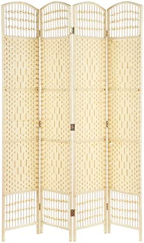 Hartleys Mampara de mimbre de 4 paneles hecha a mano: Amazon.es: Electrónica