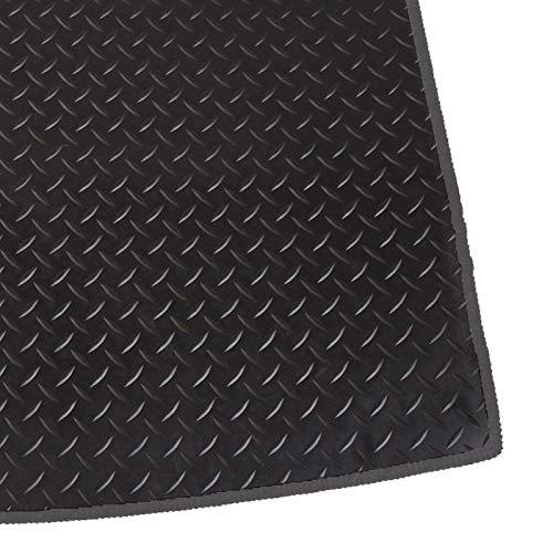 RAC Tapis de Coffre de Voiture sur Mesure 3mm Noir Caoutchouc avec Contour Gris 25295