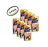 PACK OF 8 - Equate Men's 5 Blade Disposable Razor + Trimmer Blade, 3 ct