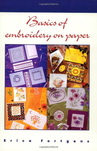 Basics of Embroidery on Paper