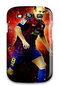 Andres Iniesta Barcelona Case Compatible With Galaxy S3/ Hot Protection Case