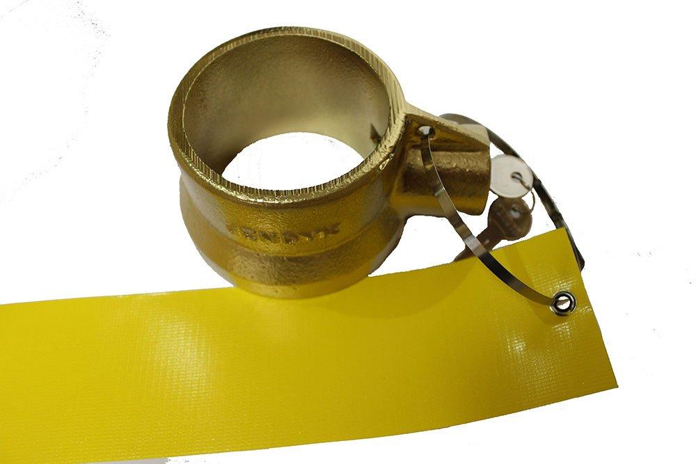 Keyed Differently Jendyk KPL01MK4-KD Sahara Gold Standard King Pin Lock