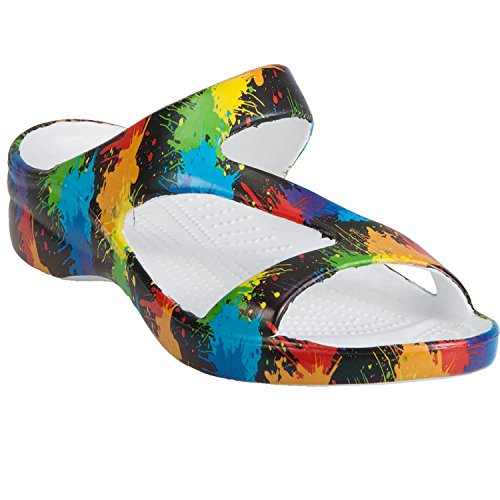 DAWGS Women's Arch Support Loudmouth Z, Paint Balls, 10 from DAWGS