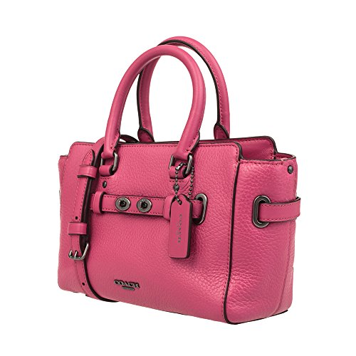 bag Hand Red COACH leather Light Women's shoulder F37635 7w8HaCq