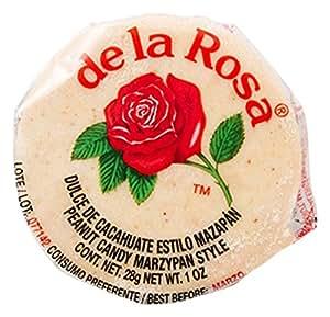 De La Rosa Marzipan Peanut Candy, 1 OZ each - 30 Packs